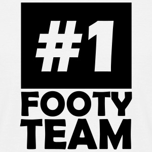 number one footy team T-Shirts - Men's T-Shirt