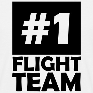 number one flight team T-Shirts - Men's T-Shirt
