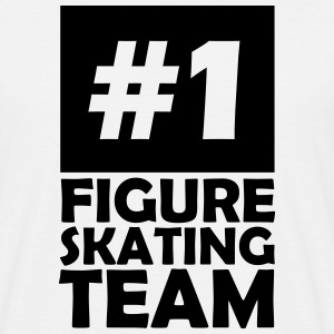 number one figure skating team T-Shirts - Men's T-Shirt