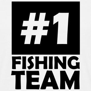 number one fishing team T-Shirts - Men's T-Shirt