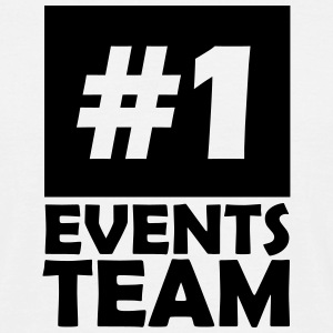 number one events team T-Shirts - Men's T-Shirt