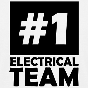 number one electrical team T-Shirts - Men's T-Shirt