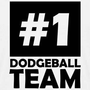 number one dodgeball team T-Shirts - Men's T-Shirt