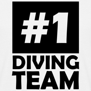 number one diving team T-Shirts - Men's T-Shirt