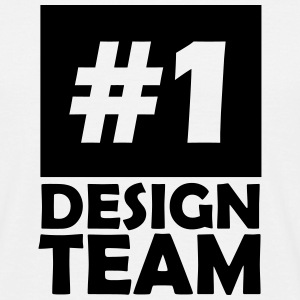 number one design team T-Shirts - Men's T-Shirt
