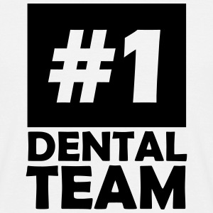 number one dental team T-Shirts - Men's T-Shirt