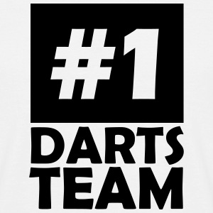 number one darts team T-Shirts - Men's T-Shirt