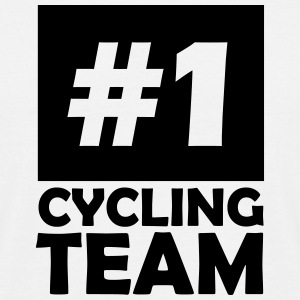number one cycling team T-Shirts - Men's T-Shirt