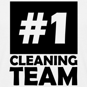 number one cleaning team T-Shirts - Men's T-Shirt