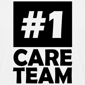 number one care team T-Shirts - Men's T-Shirt