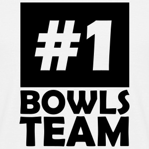 number one bowls team T-Shirts - Men's T-Shirt