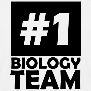 number one biology team T-Shirts - Men's T-Shirt