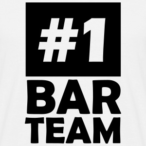 number one bar team T-Shirts - Men's T-Shirt