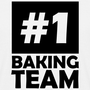 number one baking team T-Shirts - Men's T-Shirt