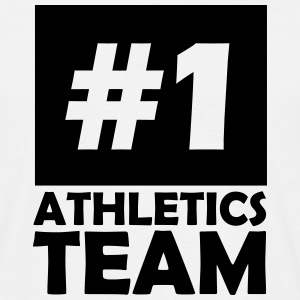 number one athletics team T-Shirts - Men's T-Shirt