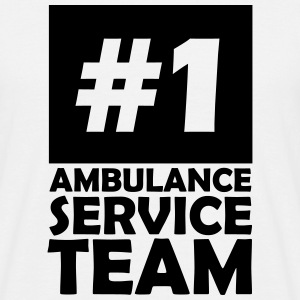 number one ambulance service team T-Shirts - Men's T-Shirt