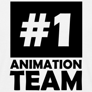 number one animation team T-Shirts - Men's T-Shirt