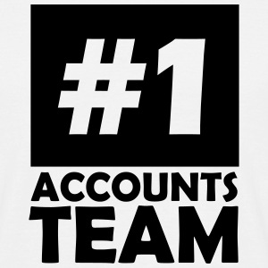 number one accounts team T-Shirts - Men's T-Shirt