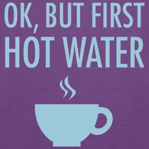 Ok, but first hot water Toppe - Dame Premium tanktop