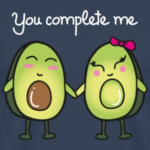 You Complete Me (Avocado) T-skjorter - Premium T-skjorte for menn