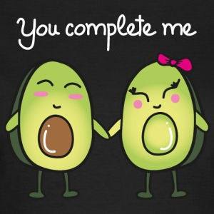 You Complete Me (Avocado) Tee shirts - T-shirt Femme