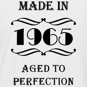 Made in 1965 T-Shirts - Männer Baseball-T-Shirt