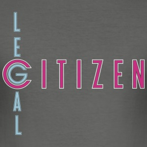 legal_citizen_x_vec_3 de T-Shirts - Männer Slim Fit T-Shirt