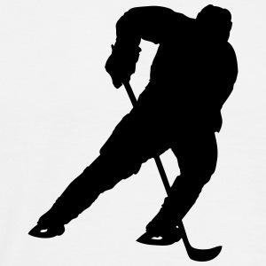 Ice Hockey Player T-shirts - Mannen T-shirt
