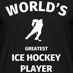 World's Greatest Ice Hockey Player T-shirts - Herre-T-shirt