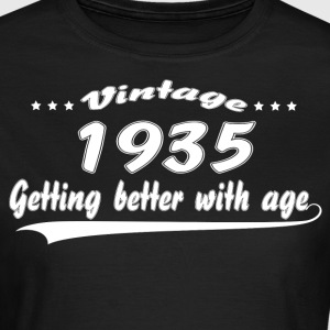 Vintage 1935 Getting Better With Age T-Shirts - Women's T-Shirt