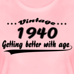Vintage 1940 Getting Better With Age T-Shirts - Women's Premium T-Shirt