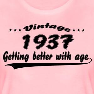Vintage 1937 Getting Better With Age T-Shirts - Women's Premium T-Shirt