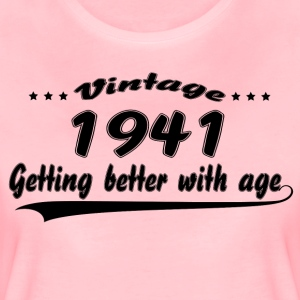 Vintage 1941 Getting Better With Age T-Shirts - Women's Premium T-Shirt