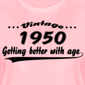 Vintage 1950 Getting Better With Age T-Shirts - Women's Premium T-Shirt