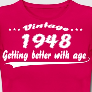 Vintage 1948 Getting Better With Age T-Shirts - Women's T-Shirt