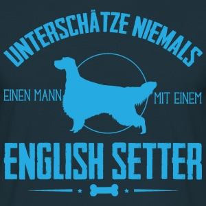 UNM English Setter  T-Shirts - Männer T-Shirt