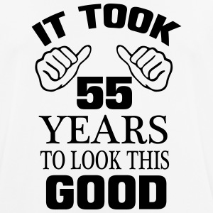 HET HEEFT 55 JAAR DUURDE, SO GOOD TO LOOK! T-shirts - mannen T-shirt ademend