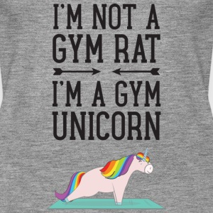 I'm Not A Gym Rat - I'm A Gym Unicorn Tops - Vrouwen Premium tank top