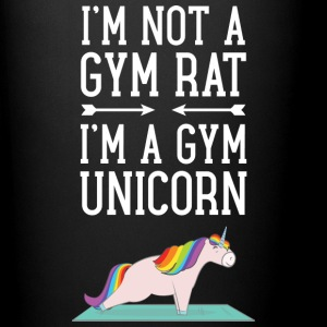 I'm Not A Gym Rat - I'm A Gym Unicorn Mugs & Drinkware - Full Colour Mug