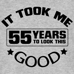 HET HEEFT 55 JAAR DUURDE, SO GOOD TO LOOK! T-shirts - Mannen Bio-T-shirt