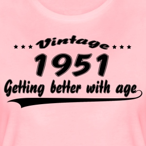 Vintage 1951 Getting Better With Age T-Shirts - Women's Premium T-Shirt