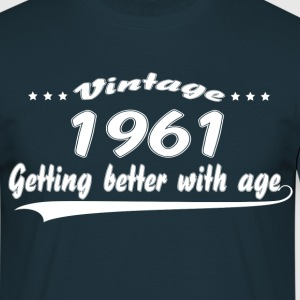 Vintage 1961 Getting Better With Age T-Shirts - Men's T-Shirt