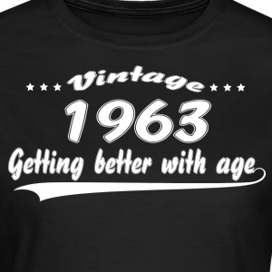 Vintage 1963 Getting Better With Age T-Shirts - Women's T-Shirt