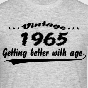 Vintage 1965 Getting Better With Age T-Shirts - Men's T-Shirt