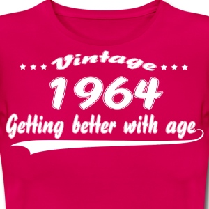Vintage 1964 Getting Better With Age T-Shirts - Women's T-Shirt