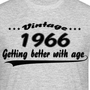 Vintage 1966 Getting Better With Age T-Shirts - Men's T-Shirt