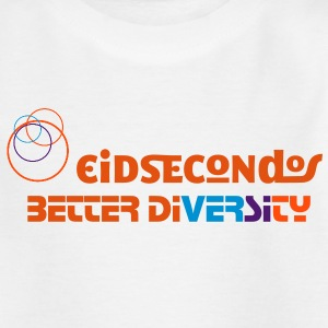 Eidsecondos better diversity - Teenager T-Shirt