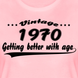 Vintage 1970 Getting Better With Age T-Shirts - Women's Premium T-Shirt