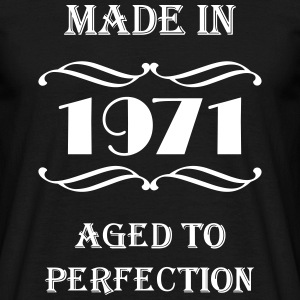 Made in 1971 T-shirts - Herre-T-shirt