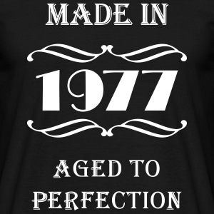 Made in 1977 T-shirts - Herre-T-shirt